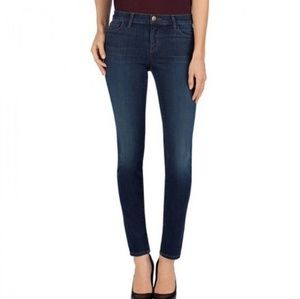 J Brand pencil leg dark vintage wash skinny jeans